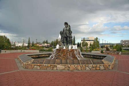 Fairbank Statue photo