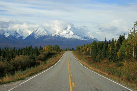 Alaska Highway Stock Photo - 1806245