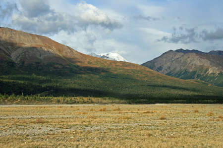 Mountains and Tundra in Alaska Stock Photo - 1806279