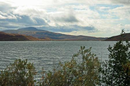 Nice Alaskan Lake Scene Stock Photo - 1810139
