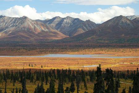 Colorful Alaskan Scene,  photo
