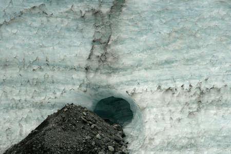 Glacier Hole Stock Photo - 1828735