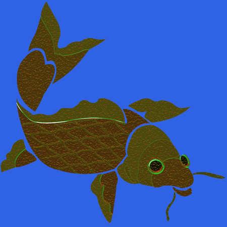 fish background 版權商用圖片 - 1954444