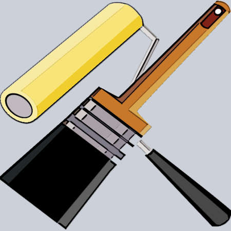 painting supplies Stock Photo - 1985542