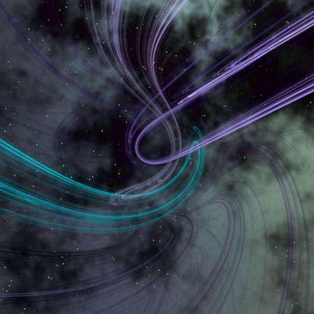 gravitational: space trail