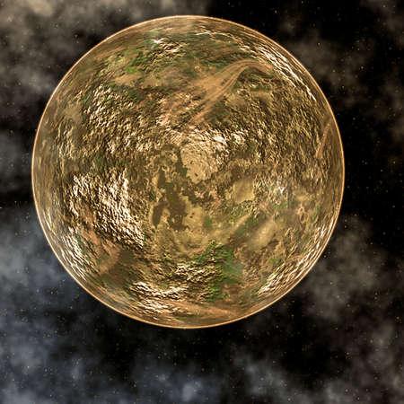 Golden Planet 版權商用圖片