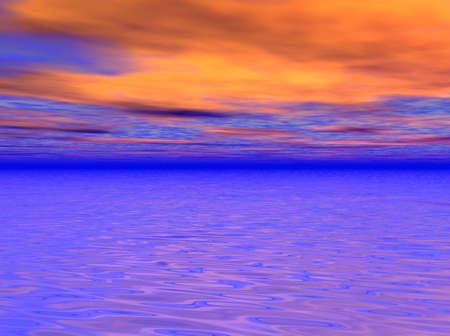 orange sky Stock Photo - 2097808