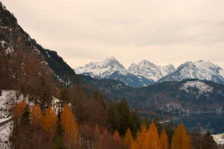 Bavarian Mountains Reklamní fotografie