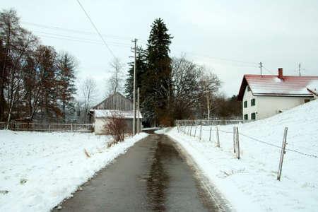 Village Street Stock Photo - 2190993