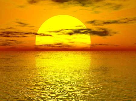 Golden Sunset 版權商用圖片