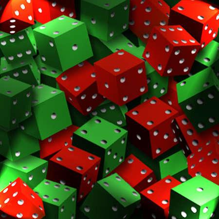 screensaver: lucky dice