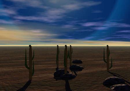 barren: Evening