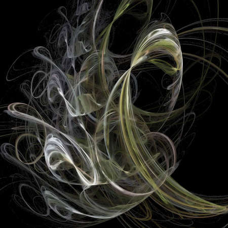 imaginary line: smoke Stock Photo