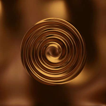 gold swirl photo