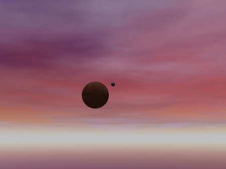 Planet and Sky