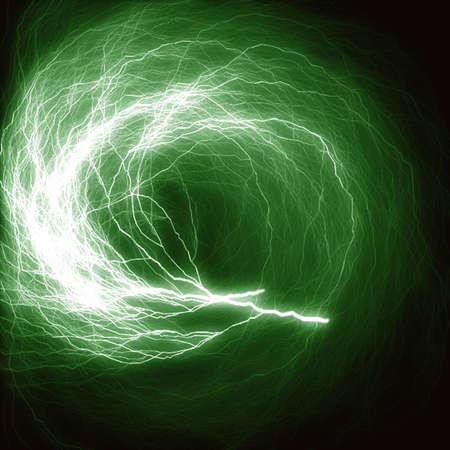 grüner Blitz
