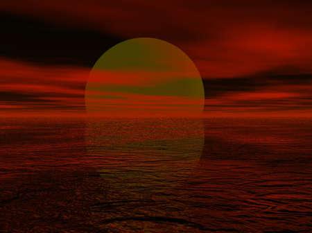 moody: Crimson Sky