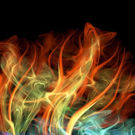 screensavers: fire
