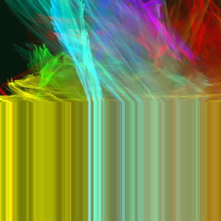abstract shapes, colors Stock Photo