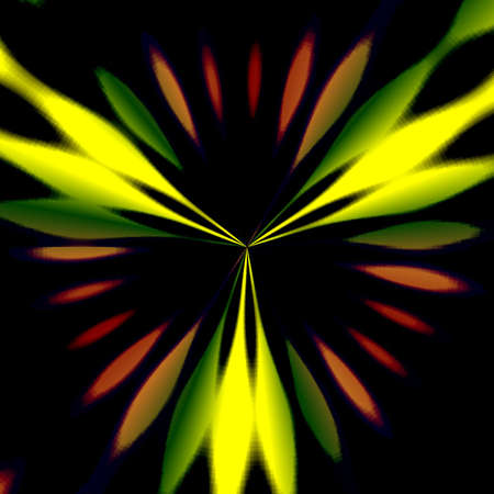 abstract shape and pattern Stock Photo