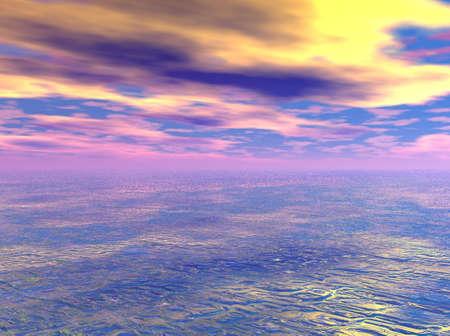 Pink Sky photo