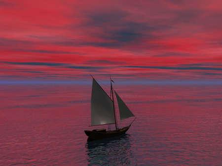 Sailing Stok Fotoğraf