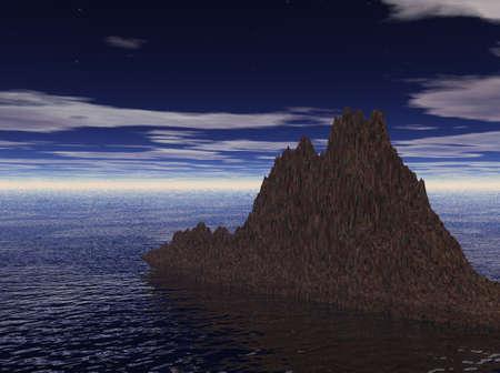 Rock and Sea photo