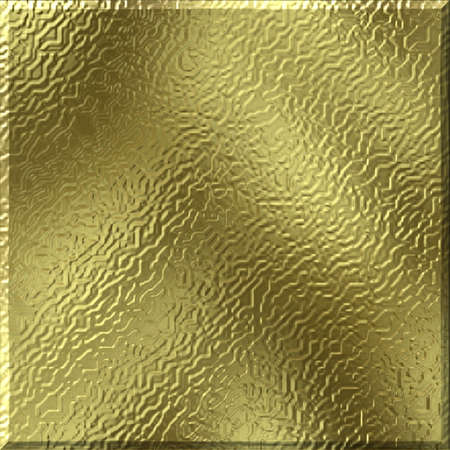 gold metal: Abstract texture, shape, design Stock Photo