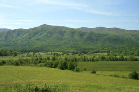 foothills: Foothills of the Smoky Mountains Stock Photo