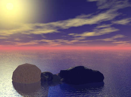 Rocky Sea Фото со стока