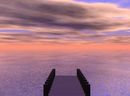 van de Zee Stockfoto