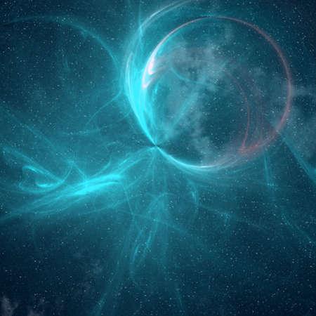 neptuno: espacio abstracto de fondo
