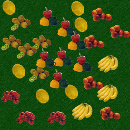 Canasta de frutas Foto de archivo - 3229701