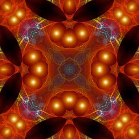 Unique abstract pattern, design, shape