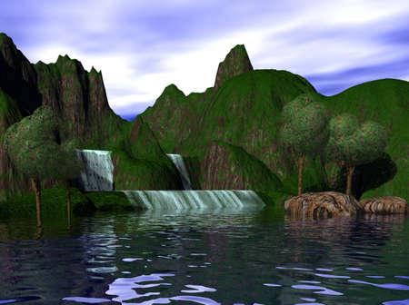 fantasy: Island Paradise