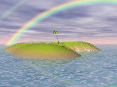 Island Paradise Stock Photo - 3613864
