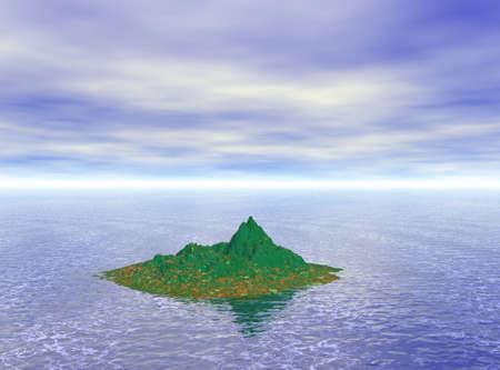 Tropical Island Stock Photo - 3613875