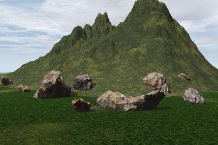 Rocky Landscape Stock Photo - 3684841