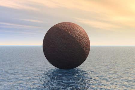 Floating Brain Stock Photo - 3751151