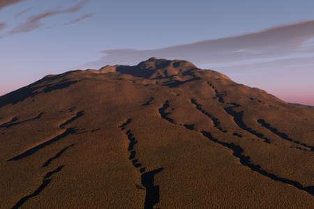 sandy soil: Suolo sabbioso Hill