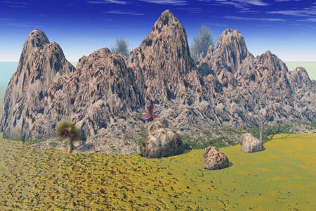 Rough Peaks Stock Photo - 3751158