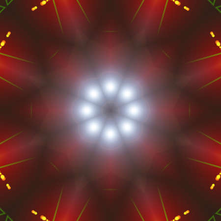 enlightened: Bright Abstract Shape, Background