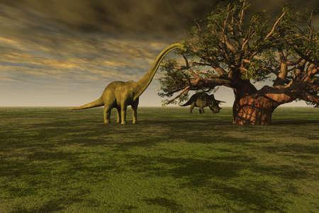 Prehistorische wereld
