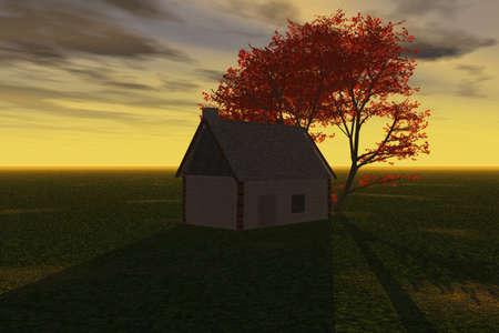 Quiet Evening Stock Photo - 4034235