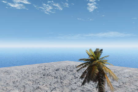 Island in the Sea Stock Photo - 4049752