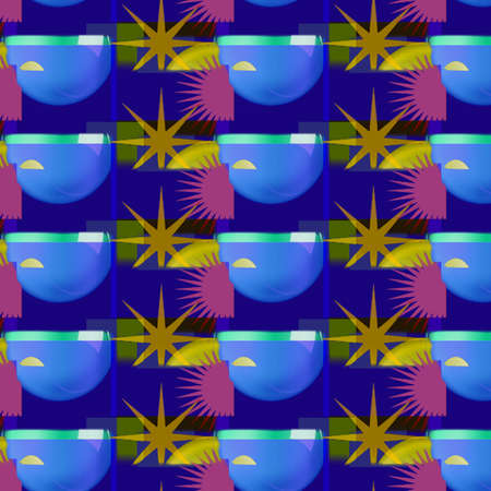 Vibrant Background Shapes and Patterns