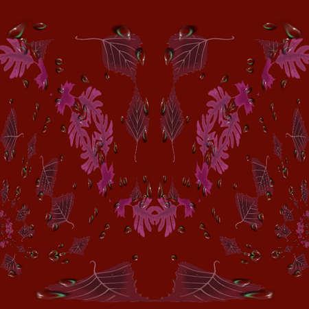 Leaf Tiles Stock fotó - 4206066