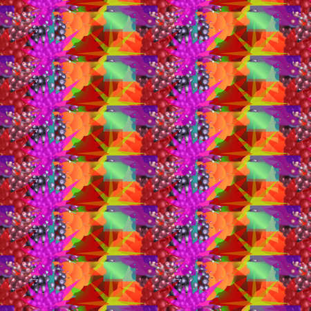 crease: Vibrant Patterns and Shapes Stock Photo