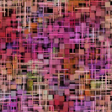 抽象的なパターンおよび形 写真素材