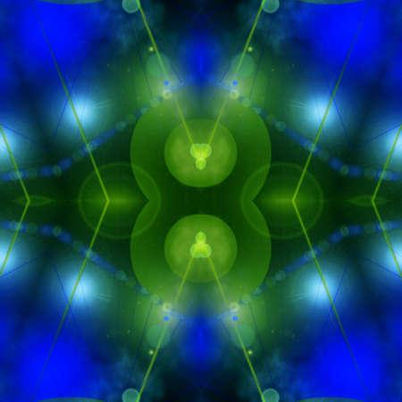 Vibrant Pattern Stock Photo